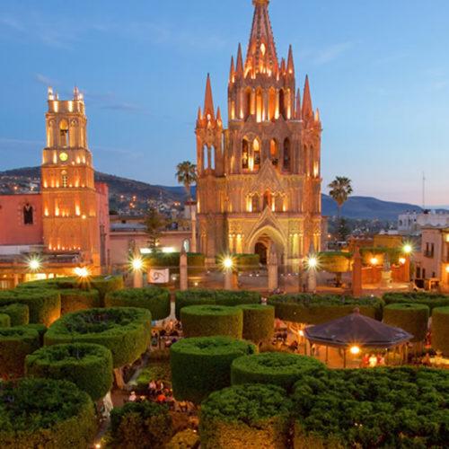 San Miguel de Allende saliendo de Veracruz, Cardel y Xalapa