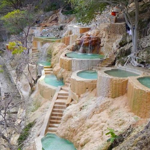 Vamos a las grutas de Tolantongo saliendo de Veracruz, Cardel y Xalapa
